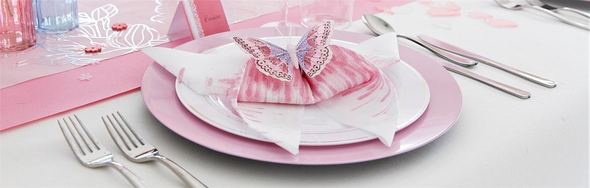 Beroemd Servetten vouwen: de grote vlinder   AVA @PP47