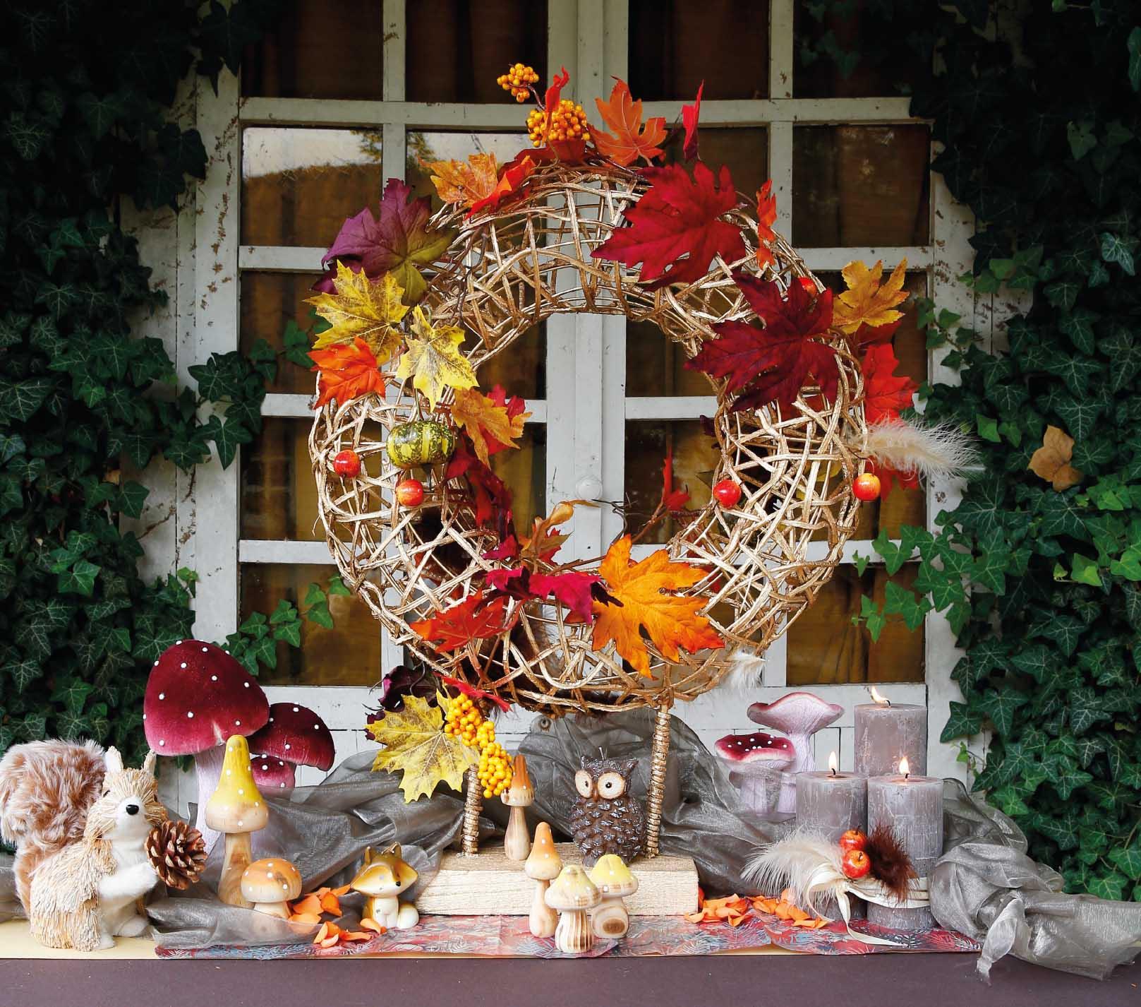 Herfst versiering maken xe 64 blessingbox for Herfst decoratie