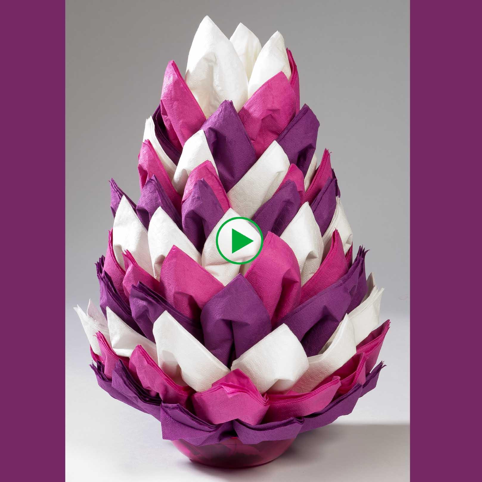 Betere Servetten vouwen: de ananas | AVA XX-25