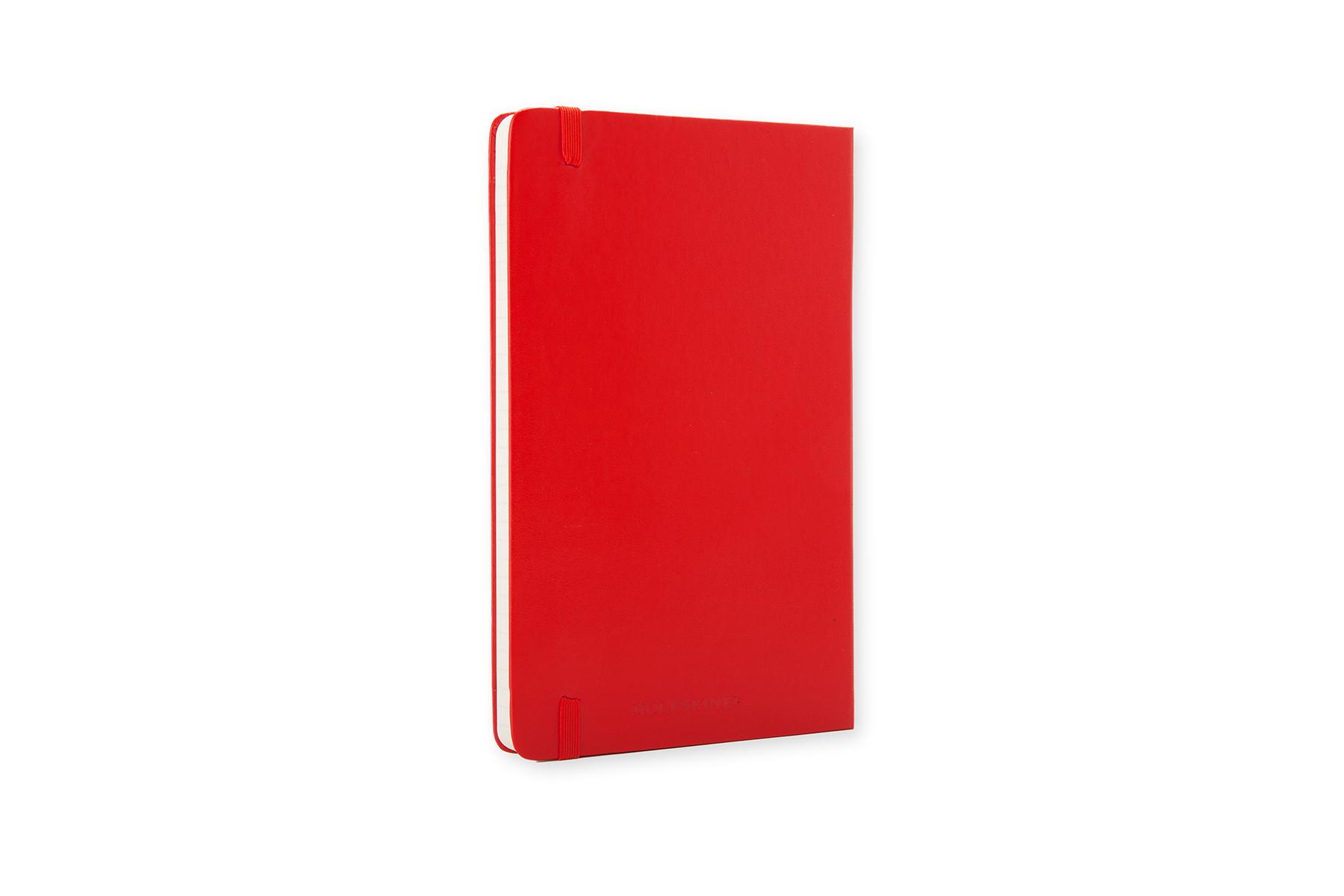 Onwijs Moleskine Notebook Large Gelijnd 13x21cm Rood - Papierwaren | AVA.be AV-28