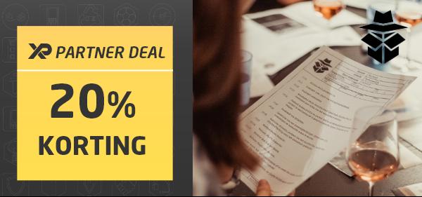 XP Partner Deal: 20% korting bij crimibox.com