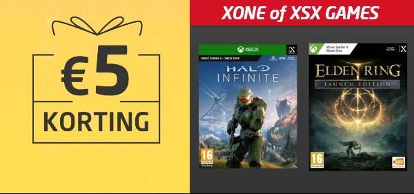 Korting op Xbox games
