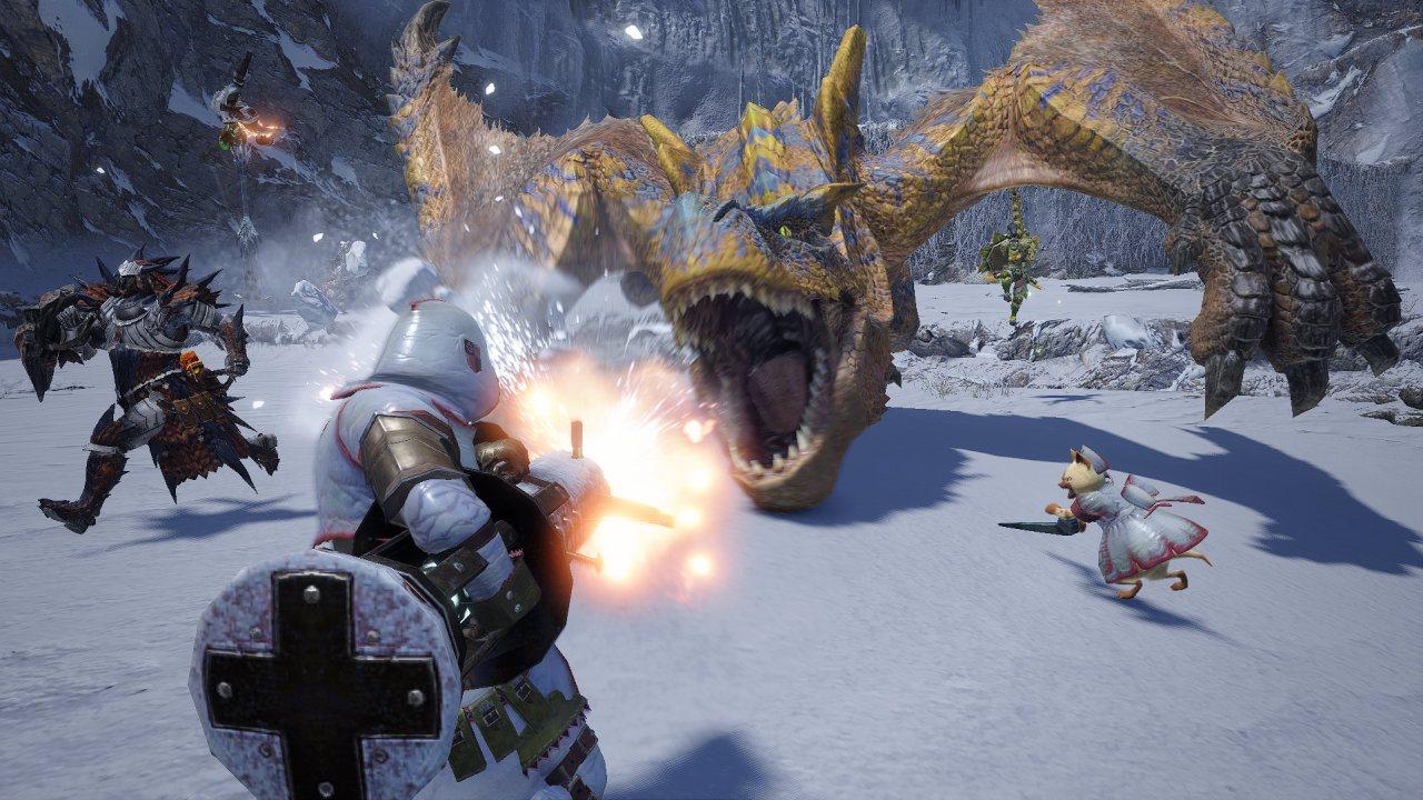 Screenshot van Monster Hunter Rise