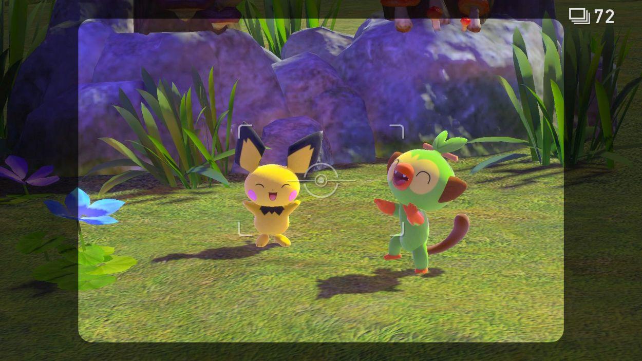 Screenshot van New Pokémon Snap