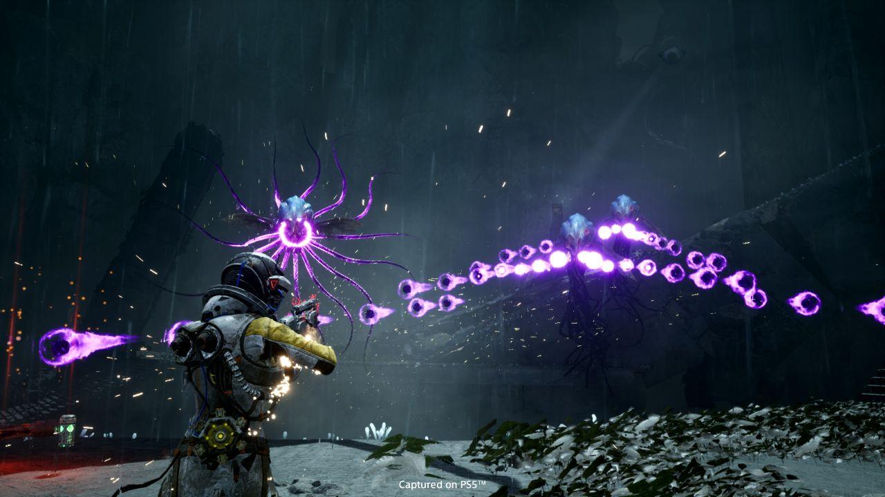 Screenshot van Returnal