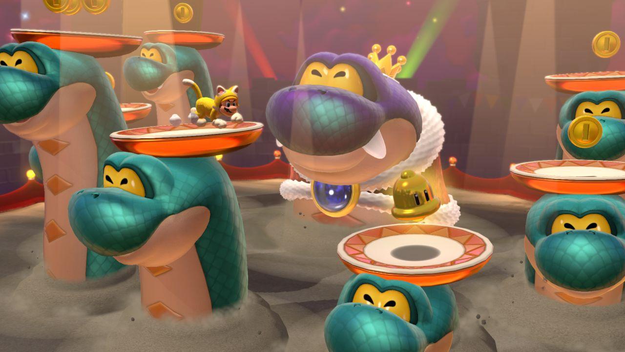 Screenshot van Super Mario 3D World + Bowser's Fury
